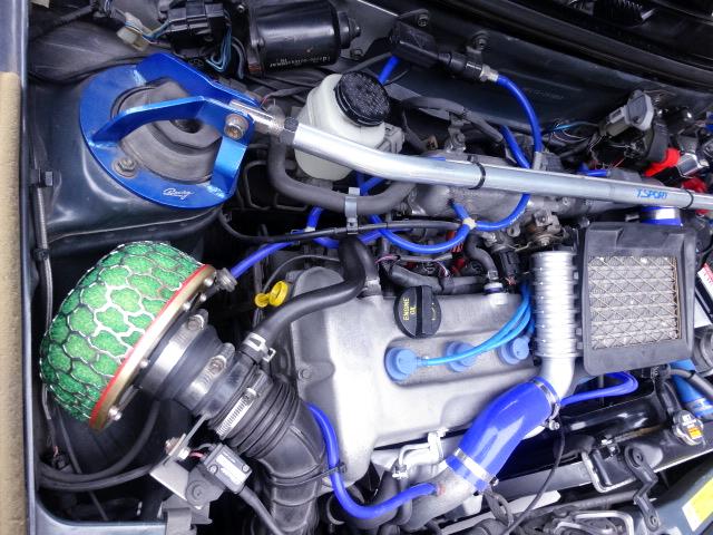 K6A TWIN CAM TURBO ENGINE with HT07 AR9 TURBINE.