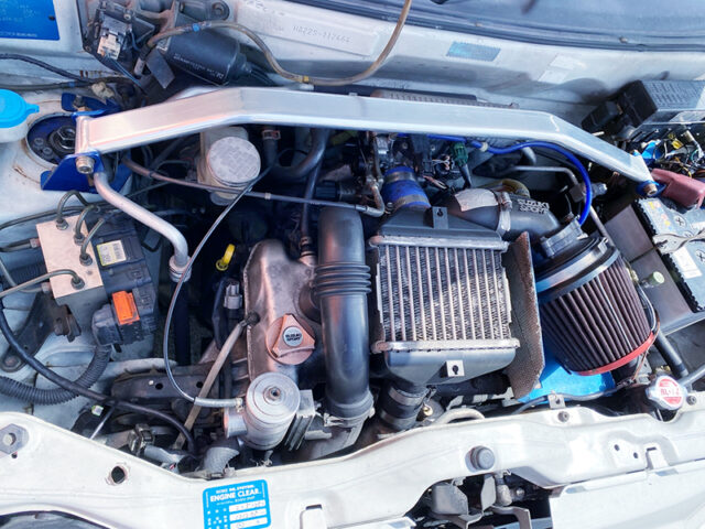 K6A TWIN CAM TURBO ENGINE with HT07 HIGH FLOW TURBO.