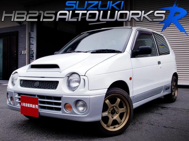 HB21S SUZUKI ALTO WORKS R.
