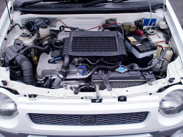 K6A TWINCAM TURBO ENGINE OF ALTO WORKS R MOTOR.
