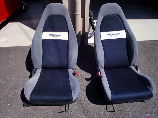 SUZUKI SPORT LIMITED SEATS.
