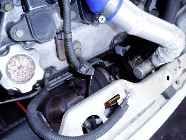 TURBOCHARGER OF E07Z TURBO ENGINE.