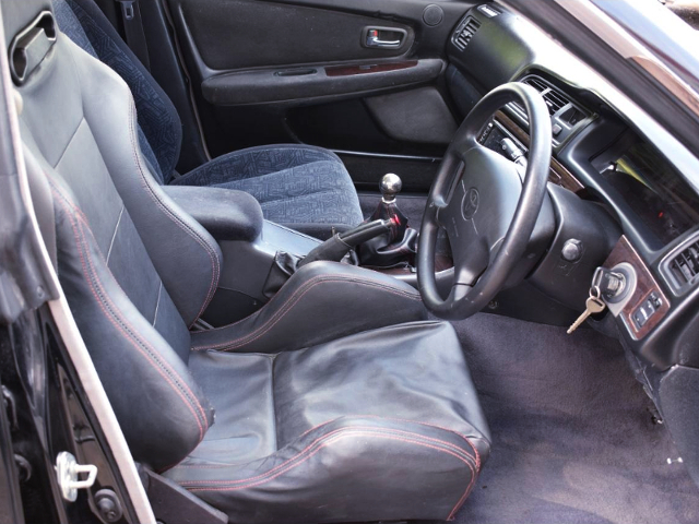 INTERIOR OF JZX100 CHASER WIDEBODY.