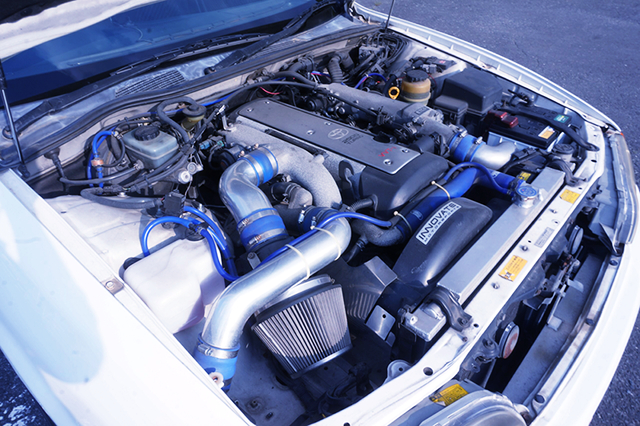 VVT-i 1JZ-GTE ENGINE with HIGH FLOW STOCK TURBO.