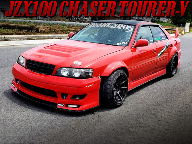 WIDEBODY MODIFIED JZX100 CHASER TOURER-V.