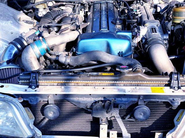 VVT-i 2JZ-GTE 3.0L TWIN TURBO ENGINE.