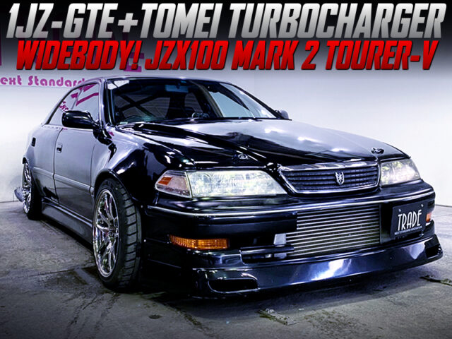 1JZ-GTE with TOMEI TURBOCHARGER into JZX100 MARK 2 WIDEBODY.