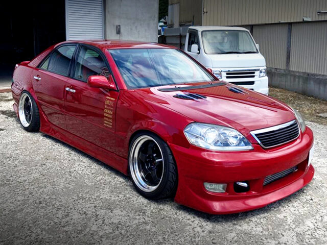 FRONT EXTERIOR OF JZX110 MARK2 iRV.