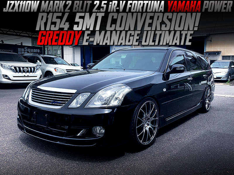 R154 5MT CONVERSION and E-MANAGE ULTIMATE MODIFIED JZX110W BLIT YAMAHA POWER.
