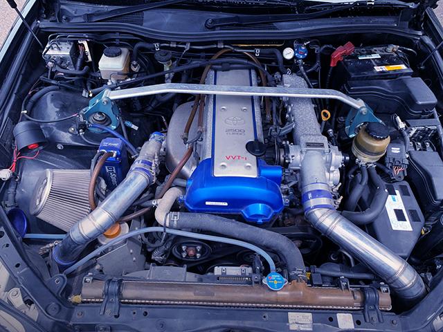 1JZ-GTE TURBO ENGINE OF YAMAHA POWER.