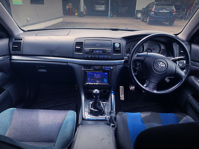 JZX110W MARK2 BLIT DASHBOARD With MANUAL CONVERSION.