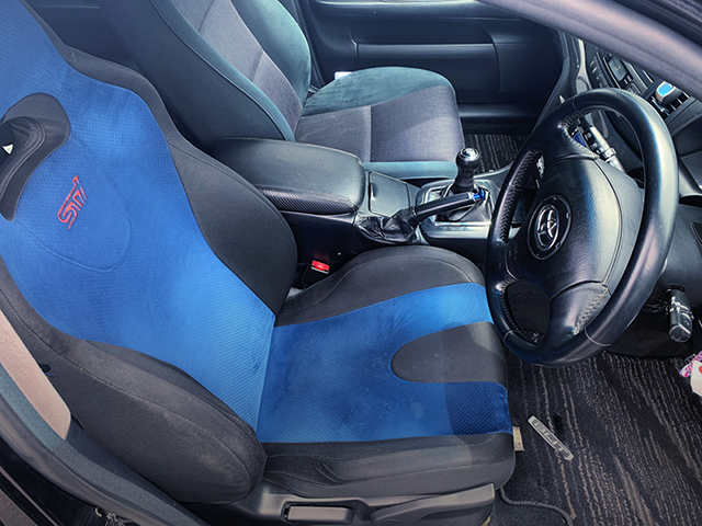 DRIVER'S STI SEAT CONVERSION.