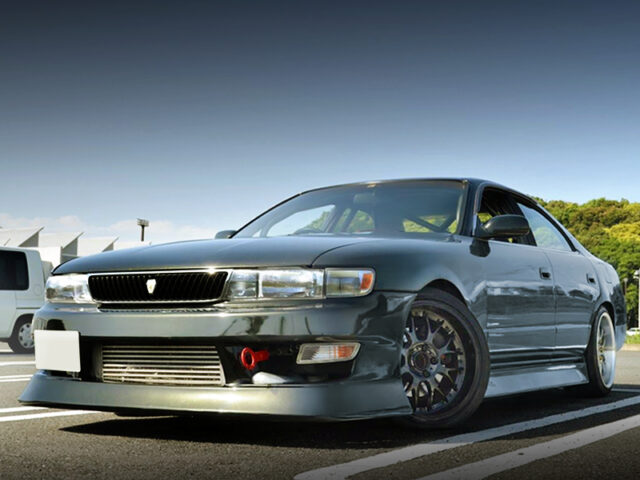 FRONT EXTERIOR OF JZX90 CHASER.