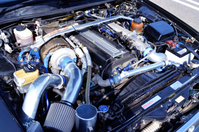 1JZ-GTE NON-VVTi With TD06-20G SINGLE TURBO.