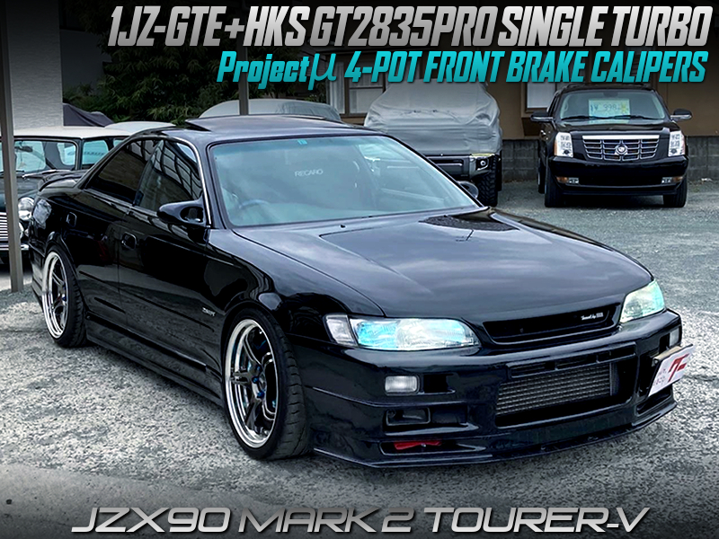1JZ-GTE with GT2835PRO and 5MT MODIFIED OF JZX90 MARK 2 TOURER-V.