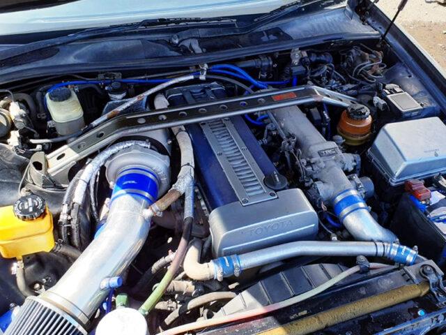 1JZ-GTE NON-VVTi ENGINE With HKS GT2 TURBO.