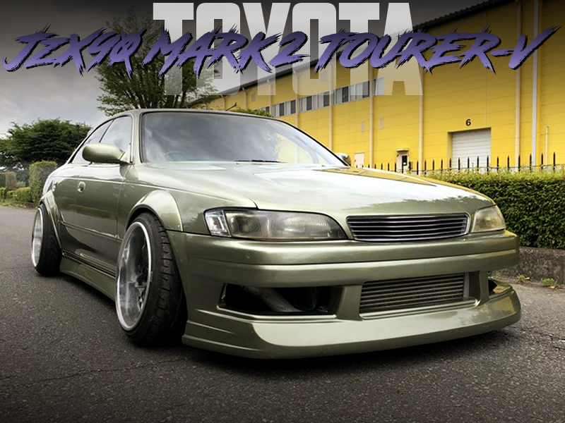 N-STYLE FENDER FLARES MODIFIED JZX90 MARK2 TOURER-V.