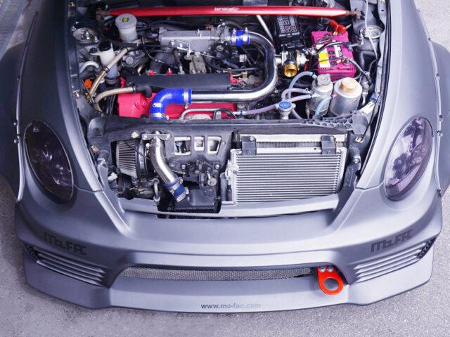JB-DET TURBO ENGINE with STROKE UP.
