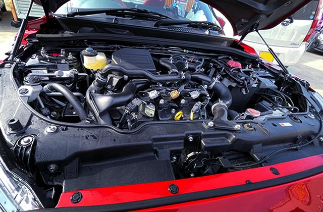 KF 660cc TURBO ENGINE.