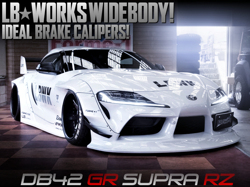 LB-WORKS WIDEBODY MODIFIED DB42 GR SUPRA RZ.