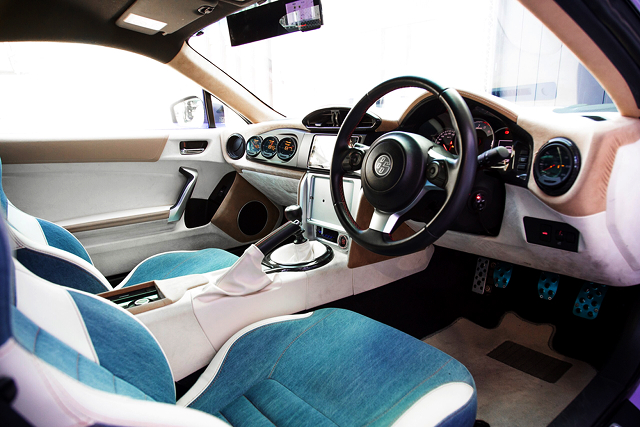 INTERIOR MODIFIED OF TOYOTA 86GT.