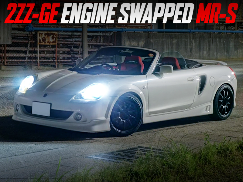 2ZZ-GE ENGINE SWAPPED ZZW30 TOYOTA MR-S.