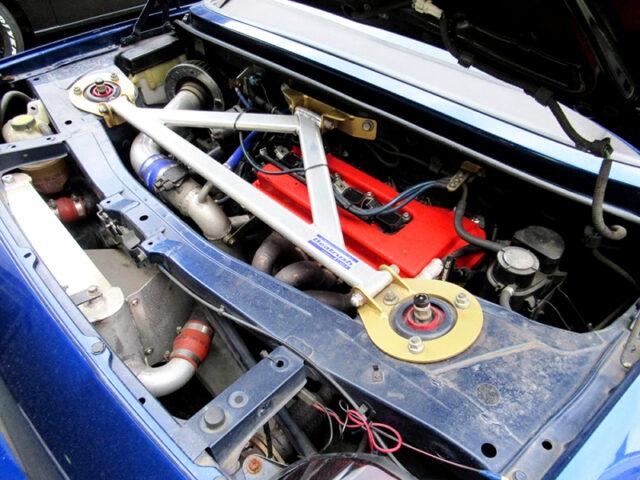 1ZZ-FE ENGINE With S14 TURBO.