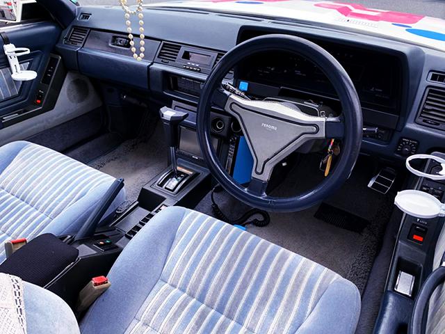 INTERIOR OF MZ11 SOARER 2800 GT.