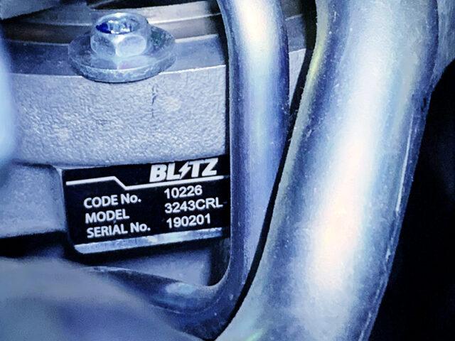 BLITZ 3243CRL-150R TURBOCHARGER.