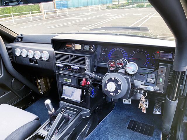 CUSTOM DASHBOARD OF R31 GTS-R.