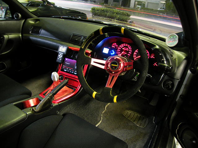 DASHBOARD OF R32 GT-R.