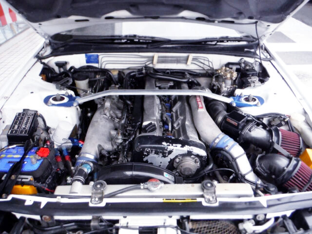 RB26DETT with TOMEI TURBOS.