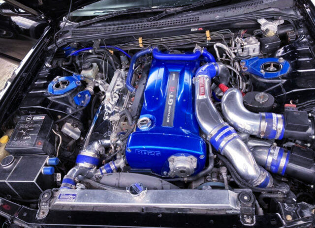RB26 With 2.7L STROKER and GT-SS TURBOS.