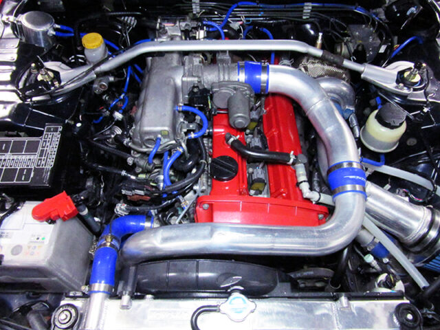 RB25DET with GREDDY TURBOCHARGER.