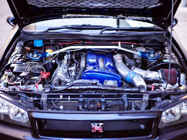 RB26DETT with TOMEI M7655 TWIN TURBO.
