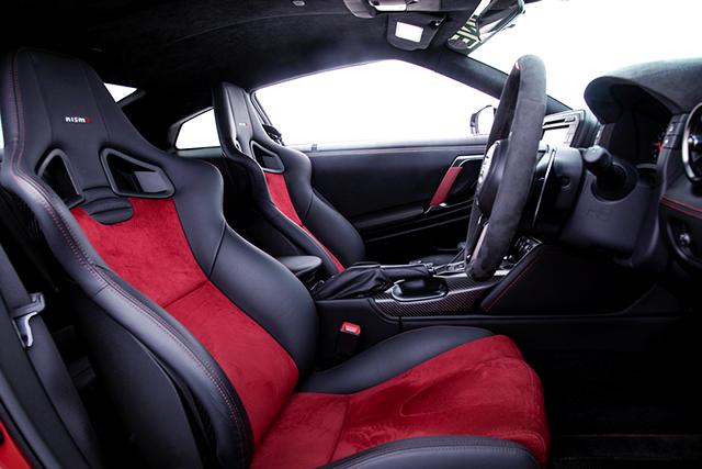 SEATS OF R35 GTR NISMO.