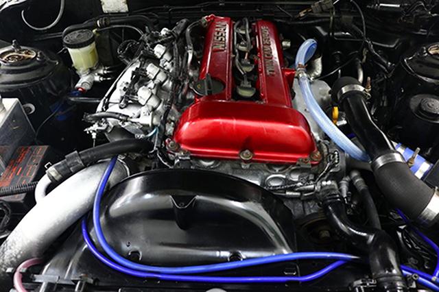SR20DET REDTOP TURBO ENGINE.