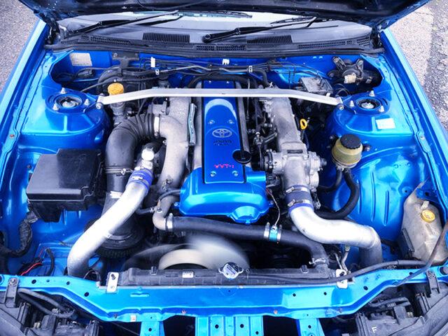 2.5L VVTi TURBOCHARGED 1JZ-GTE ENGINE.