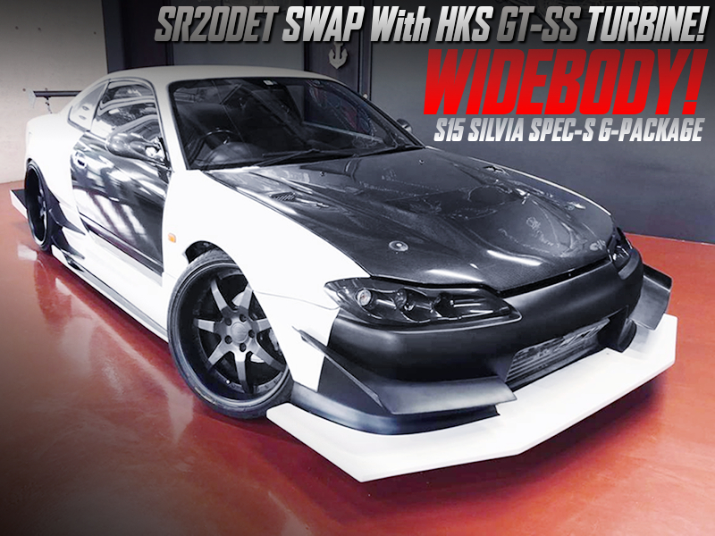 SR20DET swap With HKS GT-SS TURBO into S15 SILVIA SPEC-S G-PKG.