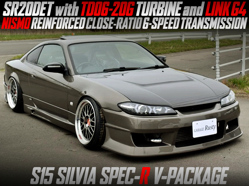 TD06-20G TURBO and NISMO 6MT INSTALLED S15 SILVIA SPEC-R V-PKG.