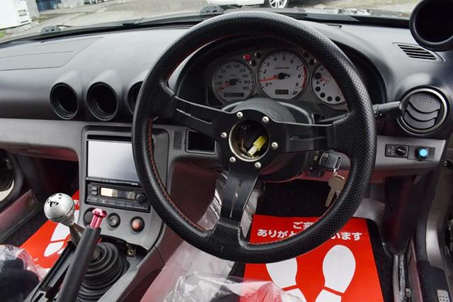 DRIVER'S DASHBOARD OF S15 SILVIA SPEC-R V-PKG.