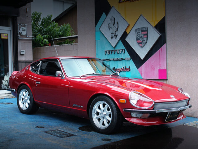 FRONT EXTERIOR OF S30 FAIRLADY Z.