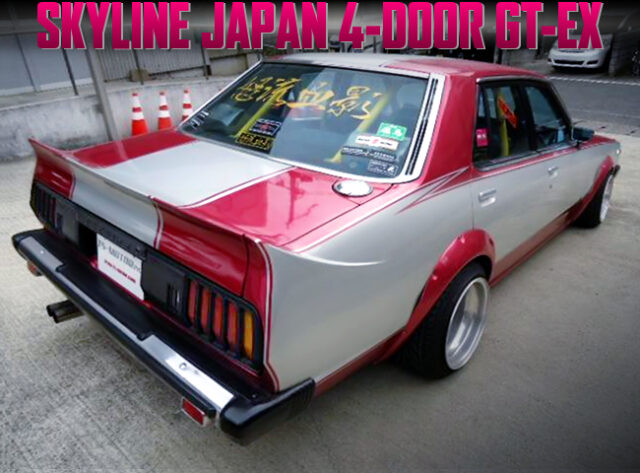 JDM KAIDO RACER MODIFIED 5th Gen C210 SKYLINE 4-DOOR.