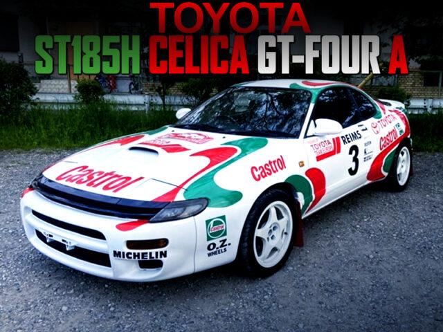 WRC REPLICA BUILT OF ST185H CELICA GT-FOUR A.