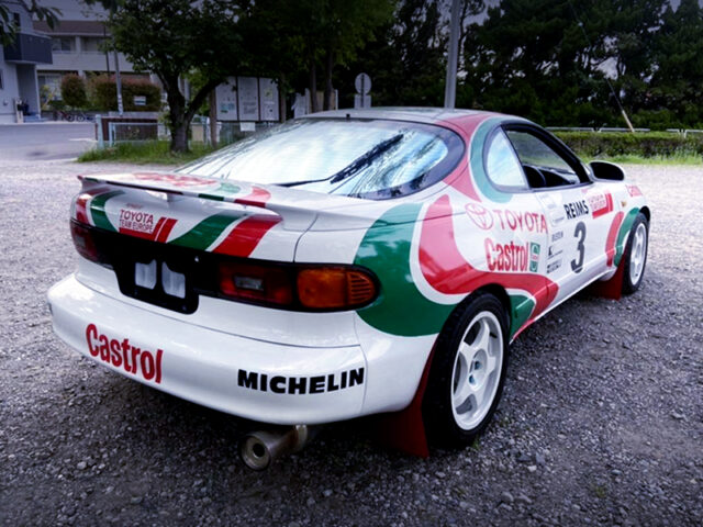 REAR EXTERIOR OF ST185H CELICA GT FOUR A.