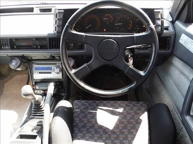 DRIVER'S DASHBOARD of A183A STARION GSR V.