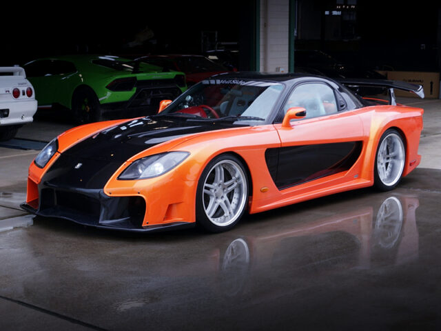 FRONT EXTERIOR OF VeilSide RX7 FORTUNE.