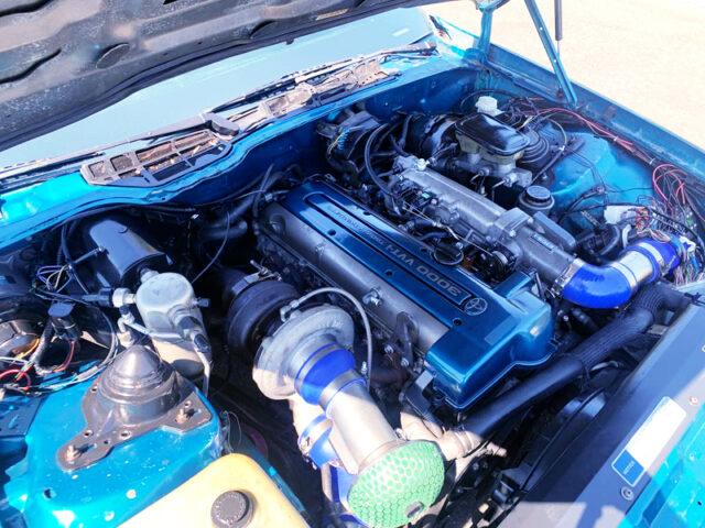 VVTi 2JZ-GTE with S366 SINGLE TURBO.