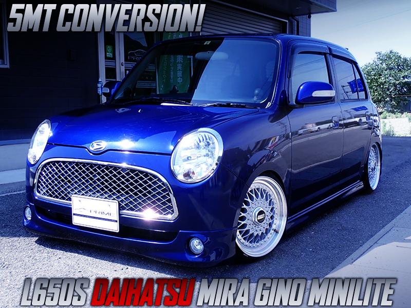 L650S MIRA GINO MINI LITE with 5MT CONVERSION.