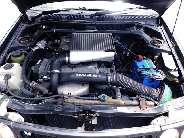 4E-FTE 1300cc TURBO ENGINE.
